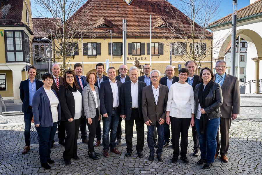 Gruppenbild Stadtrat Kandidaten